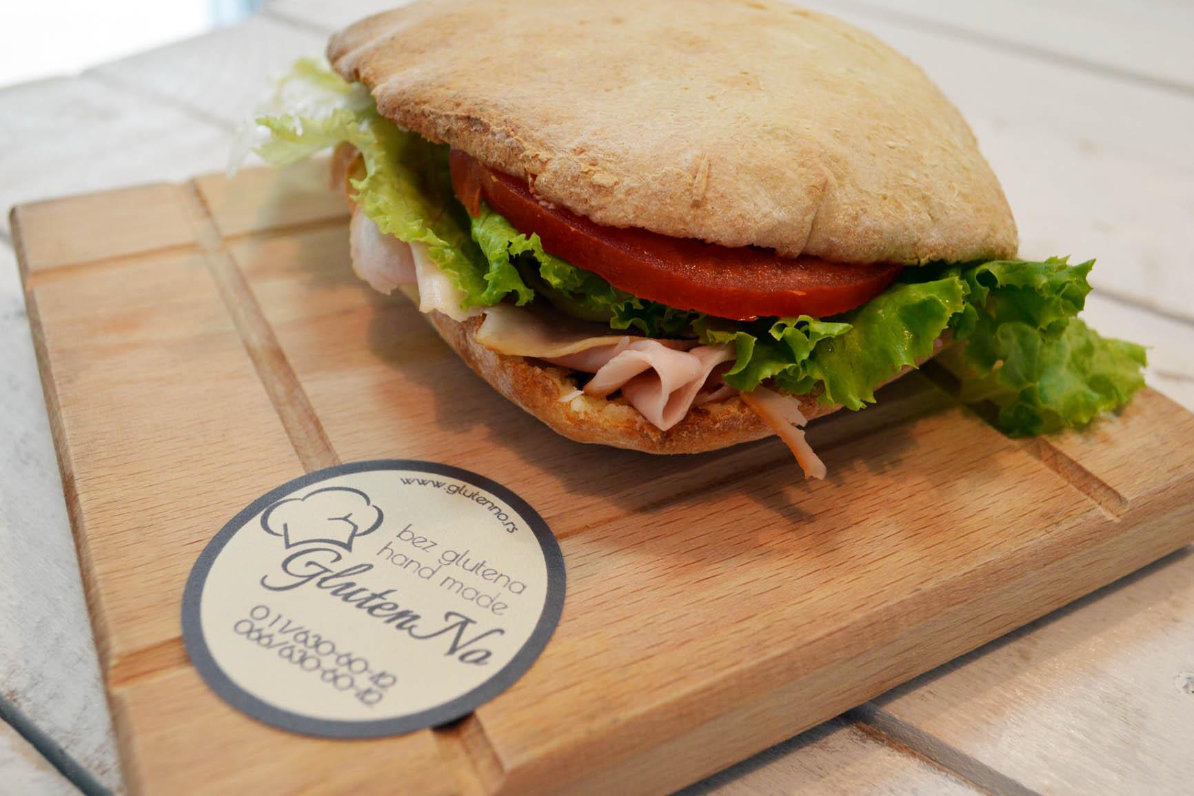 sendvic u lepinji bez glutena